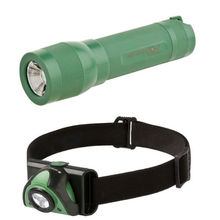 LED Lenser SE3 Green/Black + L7 Combo
