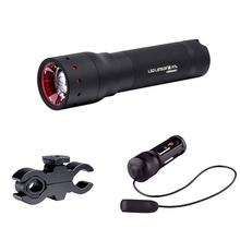 LED Lenser P7.2 Torch with Rifle Mount and Remote Switch - Box