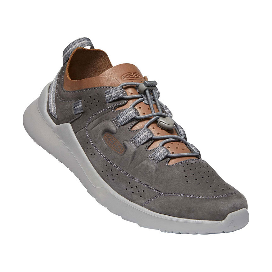 Keen Highland Mens Shoes - Steel Grey Drizzle