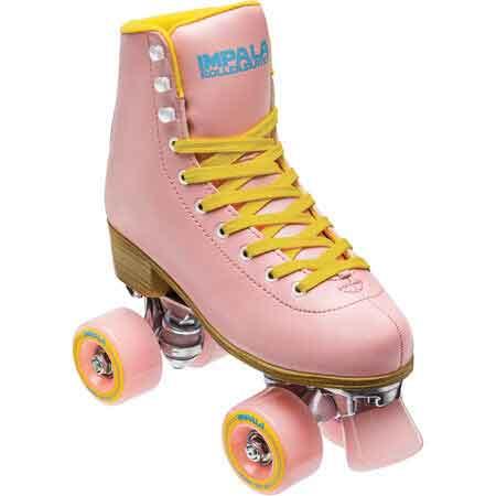 Impala Quad Skate - Pink/Yellow - 4