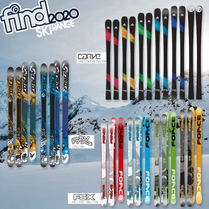 FIND & Force Skis