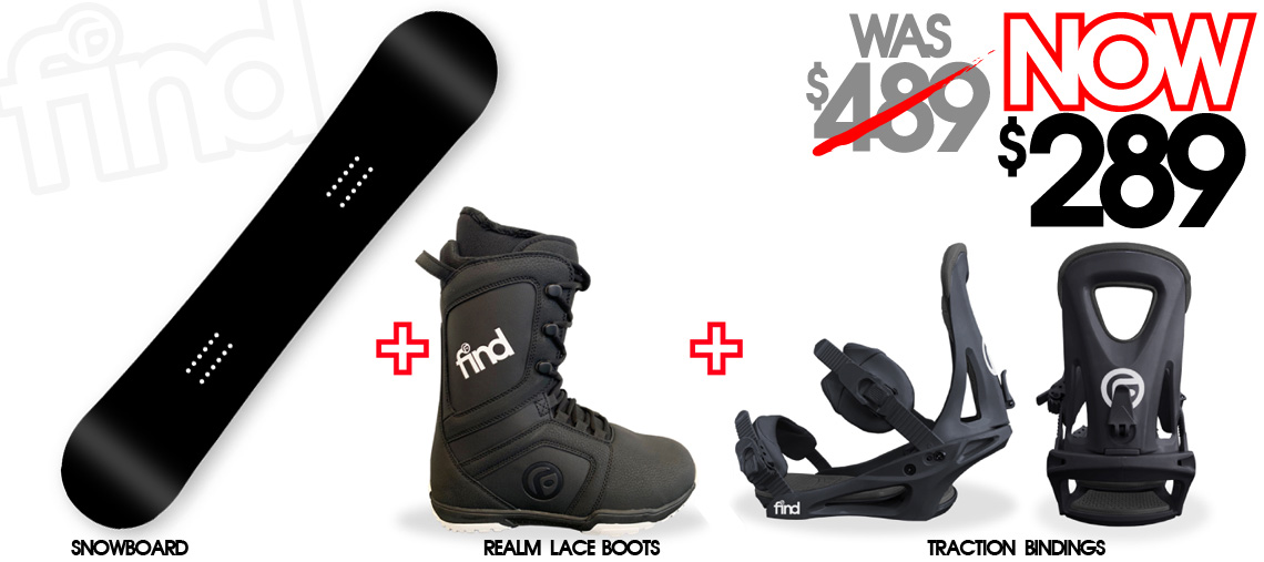 Snowboard package 289