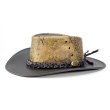 Jacaru 1008 Brumby Hat - Stonewash Brown