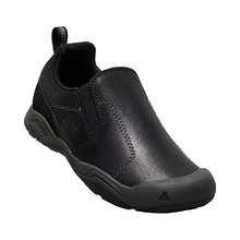 Keen Jasper Slip-On Youth Shoe - Black Raven