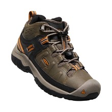Keen Targhee Mid WP Youth Hiking Boot - Dark Earth Golden Brown