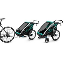 Thule Chariot Lite Trailer Child Blue Grass/Black