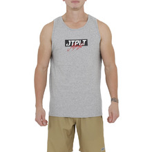 JetPilot Horrors Mens Tank - Heather