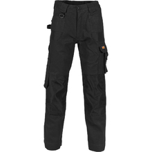 DNC Duratex Cotton Duck Weave Cargo Pants - knee pads not included - Black