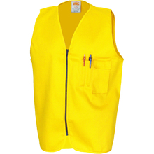 DNC Patron Saint Flame Retardant Drill ARC Rated Safety Vest - Yellow