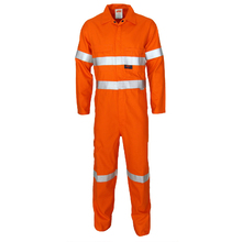 DNC Patron Saint Flame Retardant ARC Rated Coverall with 3M F/R Tape - Orange