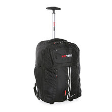 BlackWolf Inertia Wheeled Backpack - Black