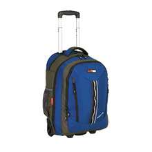 BlackWolf Momentum Wheeled Backpack - Blue
