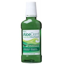 Aloe Dent Mouthwash - Alcohol Free Aloe Vera & Tea Tree 250ml