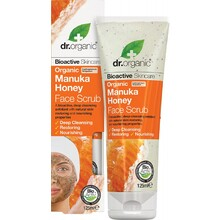 Dr Organic Face Scrub Organic Manuka Honey 125ml