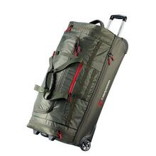 Caribee Scarecrow DX 85 wheel travel bag - Forest Olive
