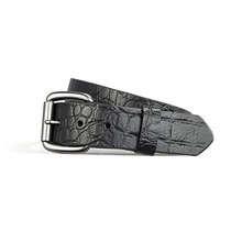 First Manufacturing Crocodile Belt Black