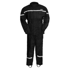 First Manufacturing Men'S Rain Suit High Visiablity-Rip Stop Breathable Black