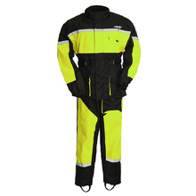 First Manufacturing Men'S Rain Suit High Visiablity-Rip Stop Breathable Neon Green