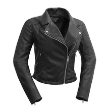 First Manufacturing Fatale - Vegan Leather Jacket Black
