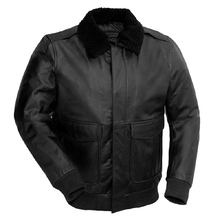 First Manufacturing Bomber Jacket Black