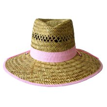 Jacaru Garden Hat with Band - Pink