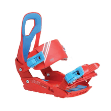 SP Snowboard Bindings Rage RX540 Red M/L