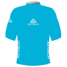 Adrenalin Junior Rash Vest Lycra Short Sleeve Sea Blue