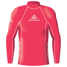 Adrenalin Junior Rash Vest Lycra Long Sleeve High Visibility Red