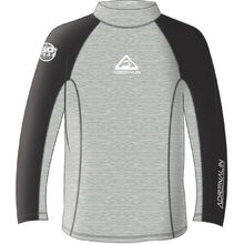 Adrenalin Beach Long Sleeve Adult Rash - Grey
