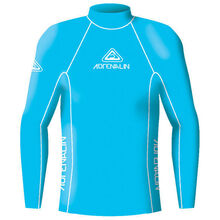 Adrenalin Adult Rash Vest Lycra Long Sleeve High Visibility Blue