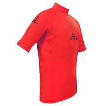 Adrenalin Mens 2P Thermo Rash Top Short Sleeve Red