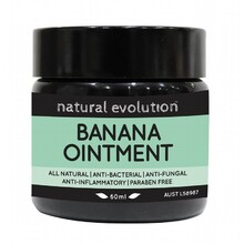 Natural Evolution Banana Ointment All Natural Healing 60ml