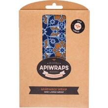 Apiwraps Reusable Beeswax Wraps - Sandwich 1 X Large 1