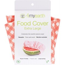 4Myearth Food Cover Red Gingham - XL 1