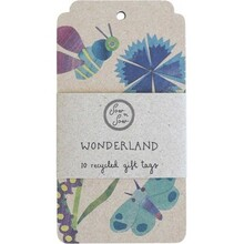 Sow 'N Sow Recycled Gift Tags - 10 Pack Wonderland - 10