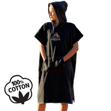 Adrenalin Poncho Towel - Black