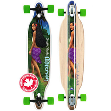 Adrenalin South Pacific Drop-Thru Cruiser 38 Complete Skateboard