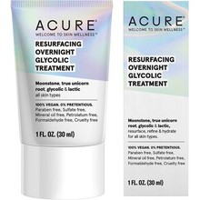 Acure Resurfacing Overnight Glycolic Treatment - 30ml