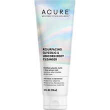 Acure Resurfacing Glycolic & Unicorn Root Cleanser - 118ml