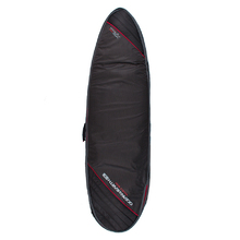 Ocean & Earth Double Wide Cover - Black/Red - 7'2