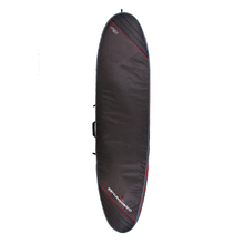 Ocean & Earth Aircon Heavy Weight Longboard Cover - Black/Red - 10'6