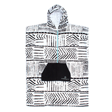 Ocean & Earth Ladies Front Zip Hooded Poncho Towel
