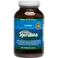 Green Nutritionals Mountain Organic Spirulina Tablets (500mg) 200