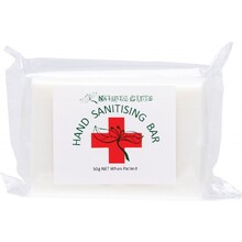 Natures Gifts Hand Sanitising Soap Bar Cleanses & Sanitises 50g
