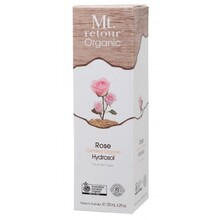Mt Retour Face & Body Mist Hydrosol Freshener Spray - Rose 125ml