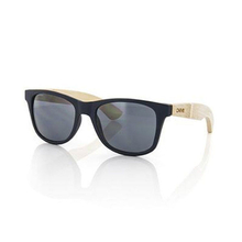Carve Adult Bondi Navy Blue W/Natural Bamboo Sunglasses
