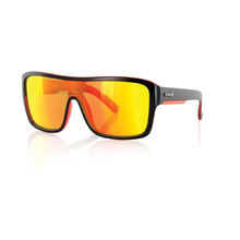 Carve Anchor Beard Matt Black/Red Iridium Polarized Unisex Sunglasses