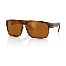 Carve Vandetta Matt Brown Polarized Mens Sunglasses