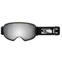 Carve First Tracks Asianfit Mat Blackgry Lens Silver Iridium Goggles