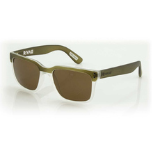 Carve Rival Olive/Clear Brown Polarized Lens - Sunglasses